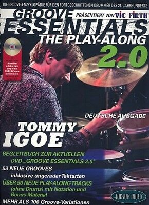 Hudson Music Europe Groove Essentials 2.0 dt. - Tommy Igoe - Playalong