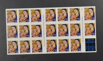 Us Scott 3176 Pane Of 20 Seasons Greetings Stamps 32 Cent Face Mnh