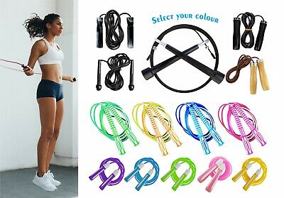 ~Best Exercise Skipping Rope Gym Adult/Kid Fitness Workout Adjustable Speed Jump