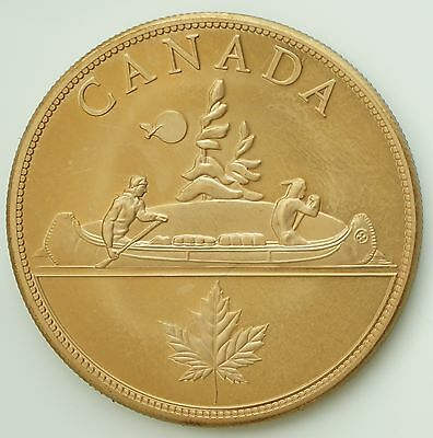 1936 Canada Edward VIII Proof Pattern Dollar Golden Alloy Rare Only 12 Minted