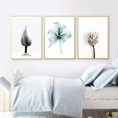 JT_ Modern Flower Rose Canvas Picture Poster No Frame Painting Art Wall Decor
