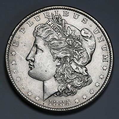 1885 O US Morgan Dollar $1 KM# 110 AU Coin