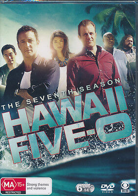 Hawaii Five-0 The Seventh Season DVD NEW Region 4