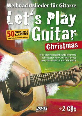 Edition Hage Let's Play Guitar Christmas - mit 2 CD's