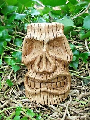 New Design Rubber Latex Mould Moulds Mold To Make Tiki Head Skull Halloween  #2