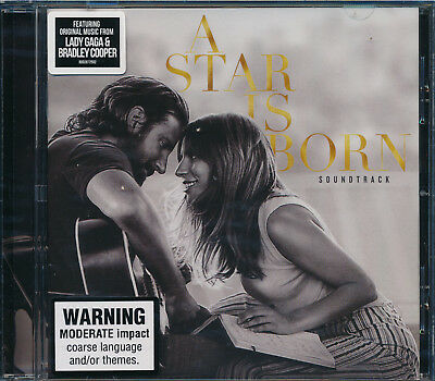 A Star Is Born CD Soundtrack NEW Lady Gaga Bradley Cooper