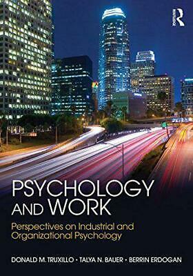 Psychologie et Work: Perspectives On Industriel Organisationnels Par