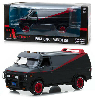 1983 GMC Vandura Transporter The A-Team TV Serie in 1:24 GreenLight 84072