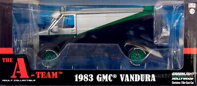 1983 GMC Vandura Transporter The A-Team GREEN MACHINE 1:24 GreenLight 84072