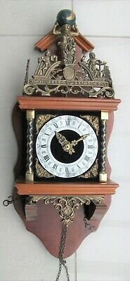 Vintage Dutch Wall Clock - For Spares