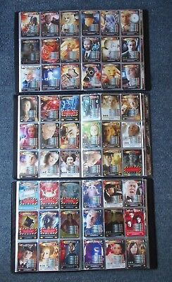 Dr Who Battles in Time Complete 7 Set Collection in 3 Official Binders inc.1013