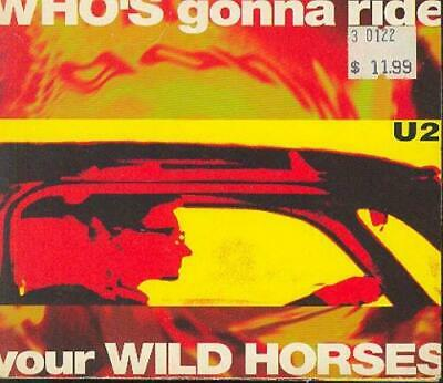 U2 : WHOS gonna ride your WILD HORSES / Salom CD