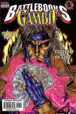 Gambit Battlebook #1 VF/NM; Marvel | save on shipping - details inside