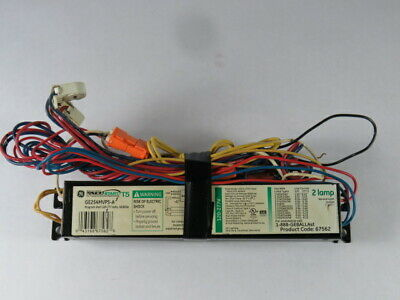 General Electric GE254MVPS-A Electronic Ballast 120-277V 50/60Hz ! WOW !