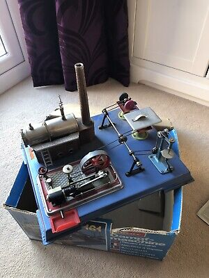 Wilesco Dampf-Maschine D161 Steam Engine In Original Box