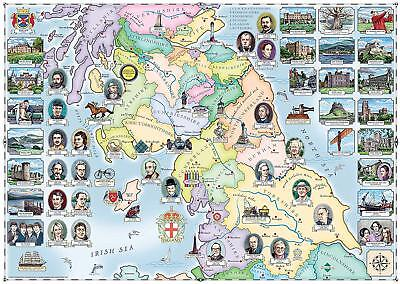 NEW! Ravensburger Our Native Lands The North Southern Scotland 1000 piece jigsaw
