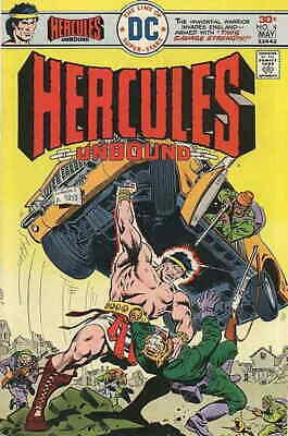 1976 Hercules Unbound #6 Versus Ares Keep You Fit All The Time Other Bronze Age Comics