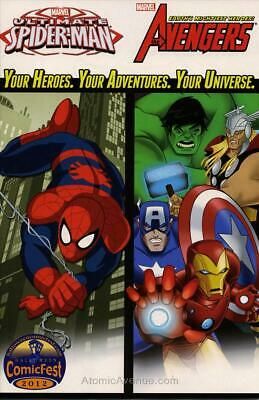 Marvel Universe Avengers and Ultimate Spider-Man Holiday Special #2012 VF/NM; Ma