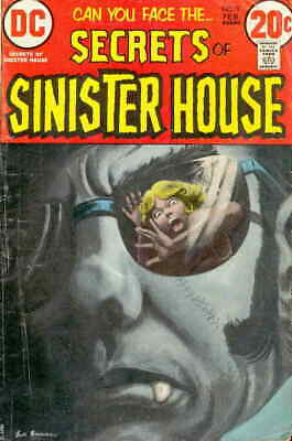 Secrets of Sinister House #9 FN; DC | save on shipping - details inside