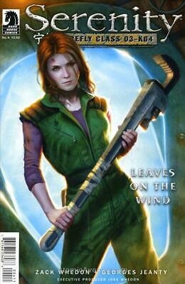Serenity: Firefly Class 03-K64—Leaves on the Wind #4 FN; Dark Horse | save on sh