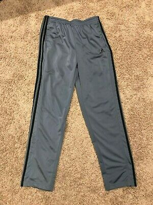 Adidas Man Sweat Pant Sz L L30 Athletic Sport Lined Activewear Black Clothing, Shoes & Accessories