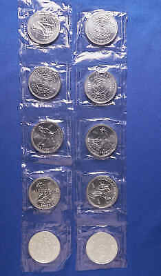 10 Englehard Silver Prospector 1 OZ Rounds .999 Fine. Sealed in plastic