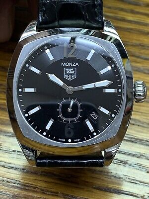 dd699a2870a MENS Tag Heuer Monza Automatic Stainless Steel Watch WR2110 EXCELLENT  CONDITION