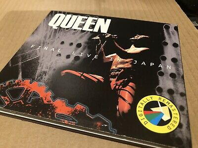 Queen Final Live In Japan Double Cd Live Japan 1985 Excellent Condition