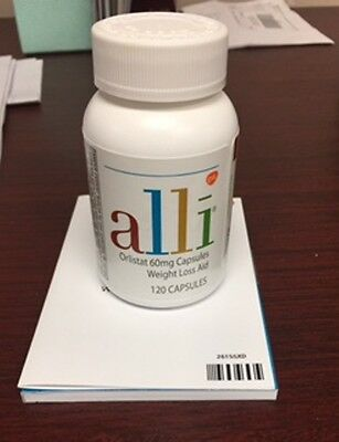 ALLI ORLISTAT 60mg Weight Loss Capsules 120CT - New in Sealed Box