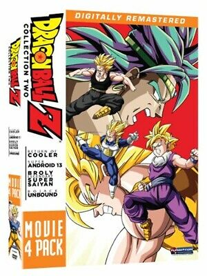 Dragon Ball Z Movie Pack Collection Two Sean Schemmel Sonny Strait Anime DVD NEW