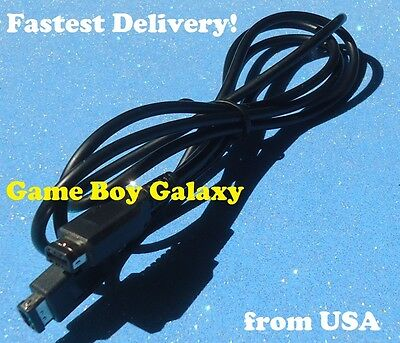 Link Cable Nintendo Game Boy Color Pocket System GBC 2 Player Linking Cord ~ USA