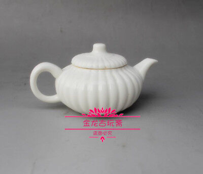 China's old porcelain white porcelain A small wine pot Teapot