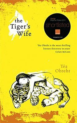 The Tiger's Wife by Tea Obreht, Acceptable Used Book (Hardcover) Fast & FREE Del