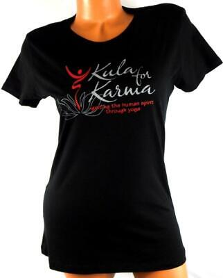 60877eb008 Next level black red kula for karma yoga women s plus size scoop neck top XL