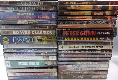 DVD Movies - New Old Stock -YOU PICK $1-$25 - Kids, Horror, Action, Golf, more
