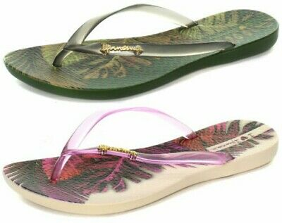 d5ac13ebef6 New Ipanema Brasil Wave Tropical Womens Flip Flops ALL SIZES AND COLOURS