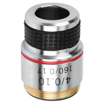 4X Plan Achromatic Microscope Objective Lens For Biological Microscopes 185