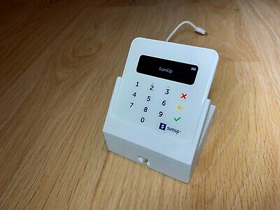 Stand for SumUp Air card reader/terminal with cable cutout ***STAND ONLY***