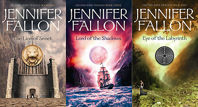 Second Sons Trilogy 1-3 Audiobooks Read by Joe Jameson