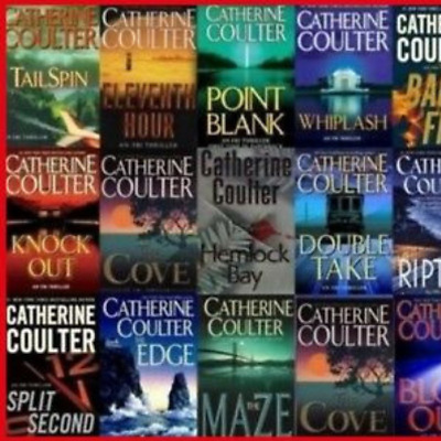 FBI Thriller Audiobooks 1 - 22 By Catherine Coulter (2018, Unabridged)