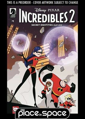 (Wk15) Disney's Incredibles 2: Secret Identities #1B - Preorder 10Th Apr