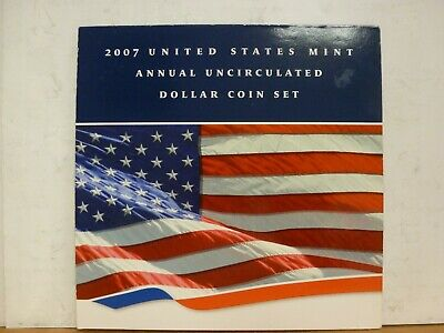 2007 U.S. Mint Annual Uncirculated Dollar Set