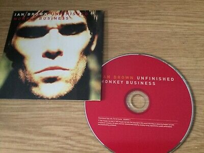 Cd promo album - Ian Brown ( Stone Roses) - Unfinished Monkey Business