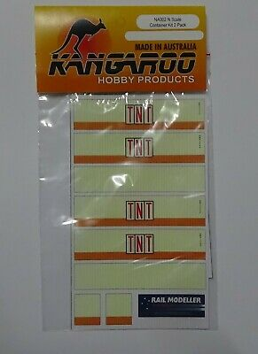 N Scale TNT Container Kit for 2 containers Kangaroo Brand