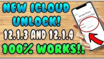 Apple iPhone NEW ICLOUD UNLOCK 12.1.3 and 12.1.4 100% SUCCESS