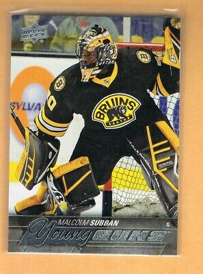 2015-16 Upper Deck Malcolm Subban Rookie #211 Boston Bruins RC