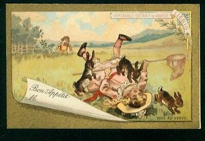 LIEBIG  : S_T02 : 'Children and Hares 1892 D 1/6