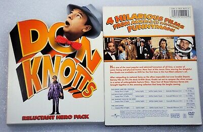 DON KNOTTS RELUCTANT HERO PACK DVD Ghost and Mr Chicken Astronaut The Love God?