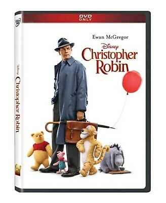 Christopher Robin DVD Movie 2018 UK Compatible