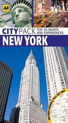 CityPack New York (AA CityPack Guides) by AA Publishing, Paperback Book, Accepta